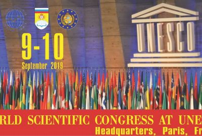 WORLD SCIENTIFIC CONGRESS AT UNESCO